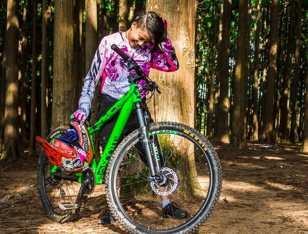 Anissa Lamare, Mountain Biker India ©Inspire Crew