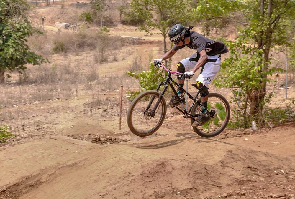 Rider: Vinay Menon