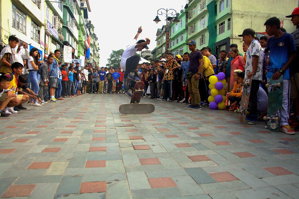 Persistence, Practice, Patience, Progress= PHURBA, our pride. Pic credit: Skate Konnect