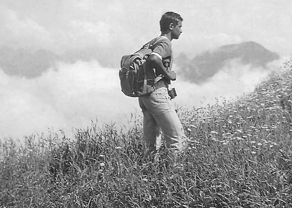 Arun Sawant at Ajoba Top in 1979