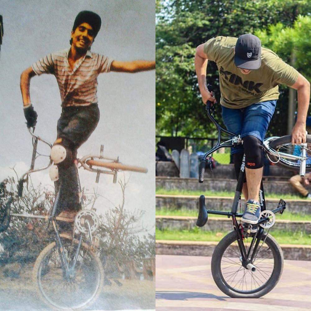 Rahul Mulani then and now.