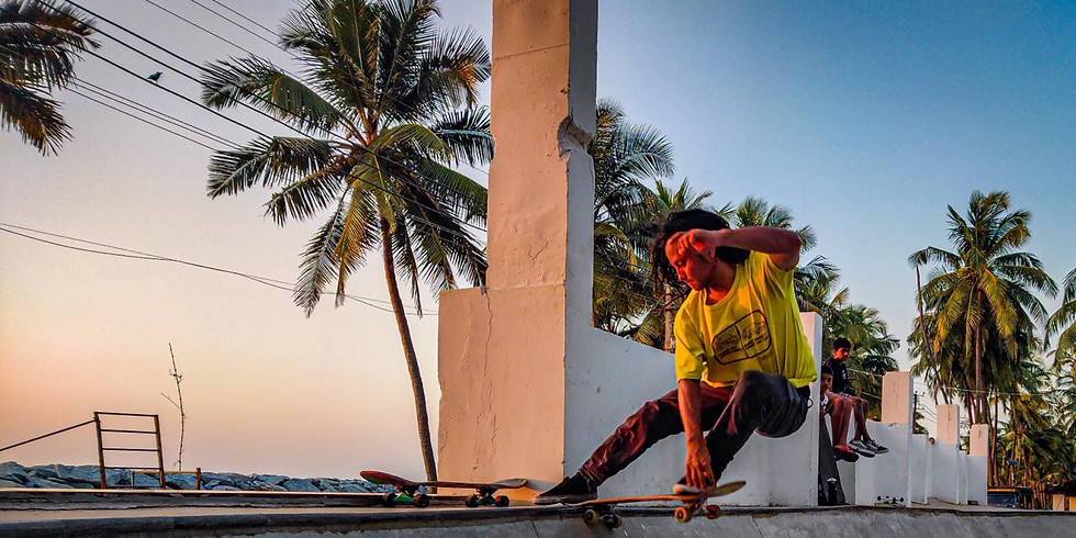 In conversation with Amit Subba and his skateboarding journey!