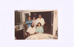 Family photo, 1987