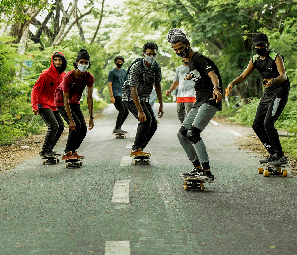 Kodungallur Skateboading Team. PC: Team_360