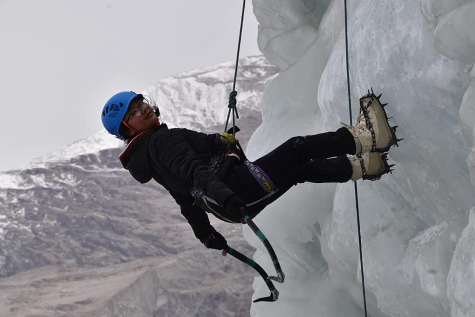 Nubra Valley Women's Ice Climbing Festival