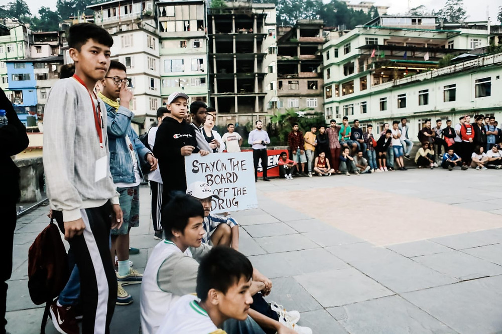 You can also make donations to strengthen Sikkim Skateboarding community. Pic Credit: Skate Konnect