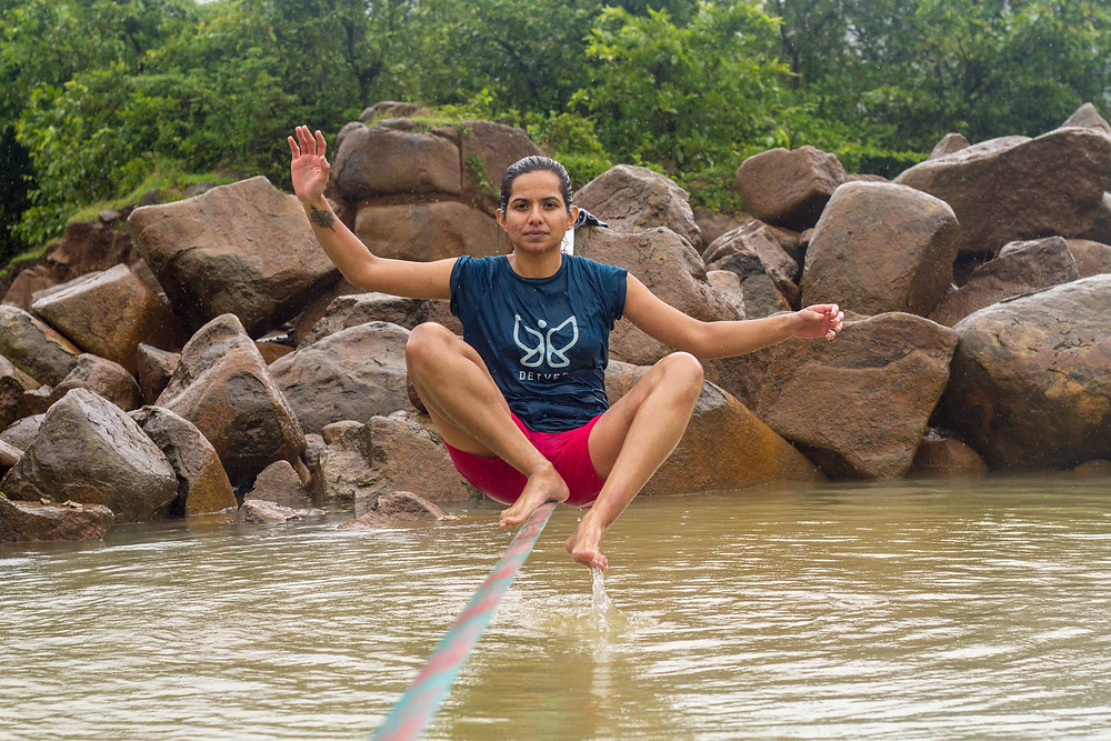 Tanmayi Gidh in her element ©Inspire Crew