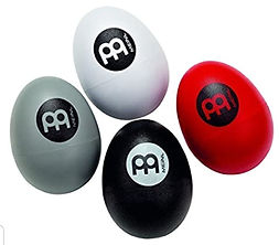 Meinl 4-Piece Egg Shaker Set with Four D