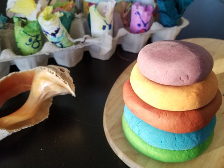 Easy and Healthy Playdough Without Cream of Tartar - sensory projects for kids and adults