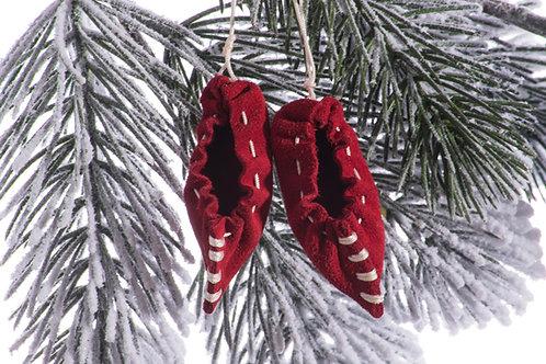Opincuțe pentru bradul de Crăciun (set de 5)