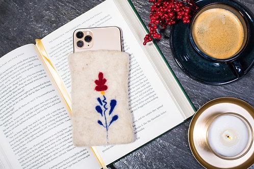 Husă din lână pentru smartphone