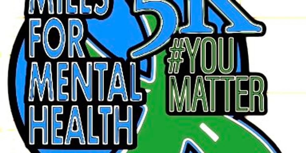 Annual Virtual 5k - Miles for Mental Health