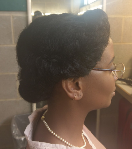 Hairstyling - 1930s (Wig)