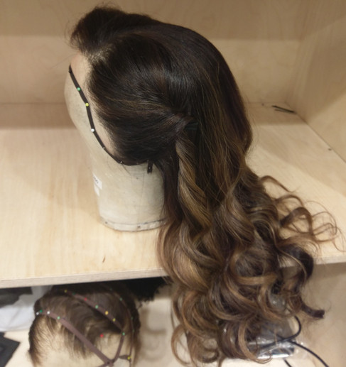 Setting & Dressing Out Curls