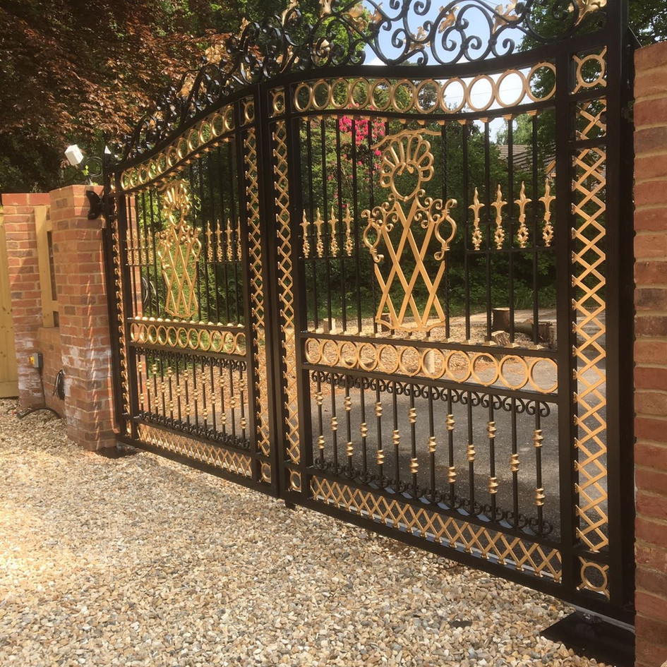 Design your own entrance gates
