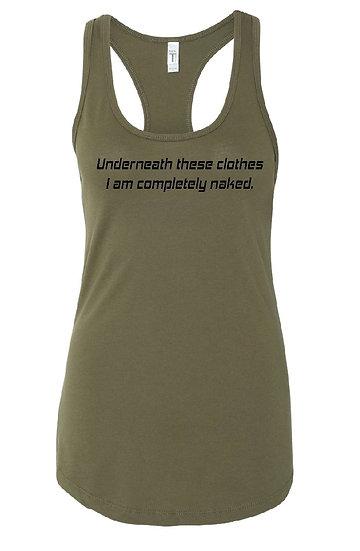 Naked Women's Tank
