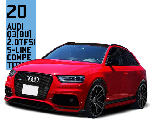 Audi Q3 (8U) S-Line Competition
