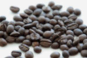 a dark roasted coffee