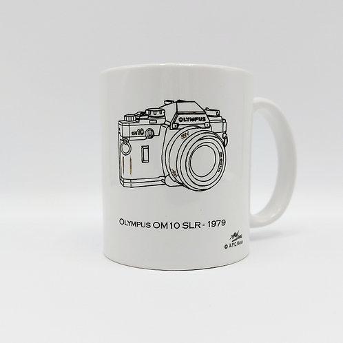 Ceramic Mug - Olympus OM10 SLR