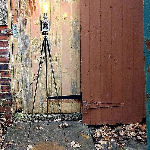 Upcycled Camera Lamp - Kodak Brownie Six-20 D