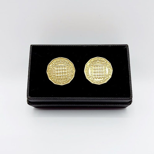 1963 Upcycled Vintage Coin Cufflinks
