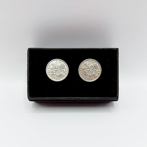 1961 Upcycled Vintage Coin Cufflinks