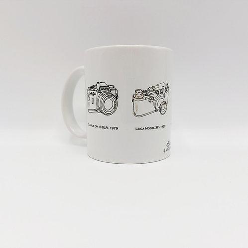 Ceramic Mug - Vintage Cameras