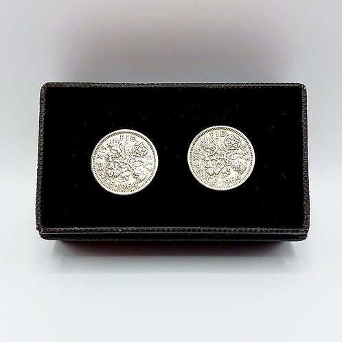 1964 Upcycled Vintage Coin Cufflinks
