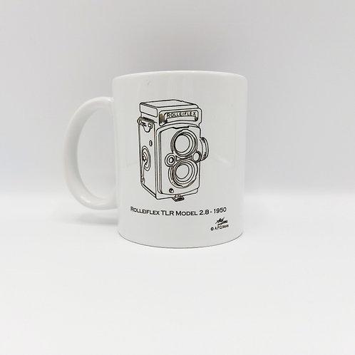 Ceramic Mug - Rolleiflex Model 2.8