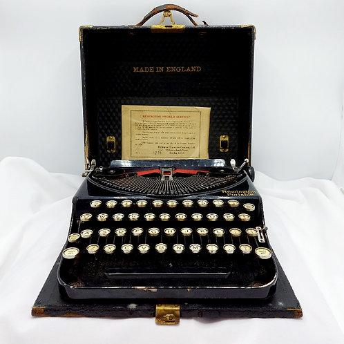 """Remington """"World Series"""" Portable Typewriter"""