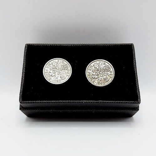 1962 Upcycled Vintage Coin Cufflinks