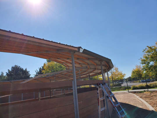 Curved Residential Gutters