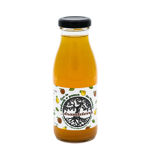 Zumo de manzana y membrillo (250 ml)