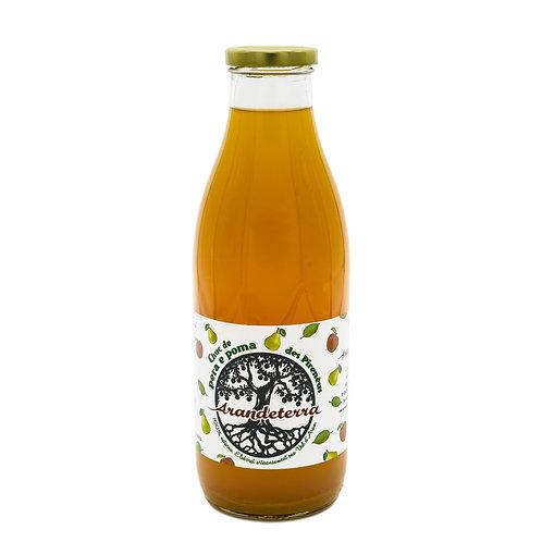 Zumo de manzana y pera (1000 ml)