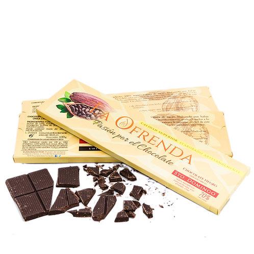 Chocolate de Santo Domingo. Origen (100 g)