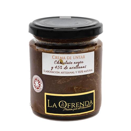 Crema untar chocolate negro (250 g)