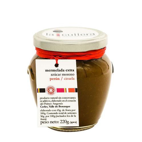 Ciruelas, Azúcar moreno (212 ml)