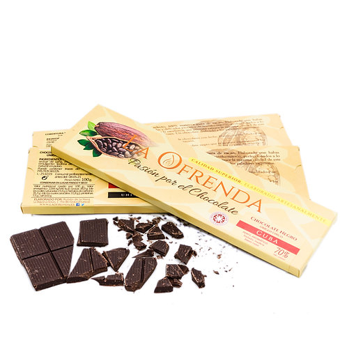 Chocolate de Cuba. Origen (100 g)