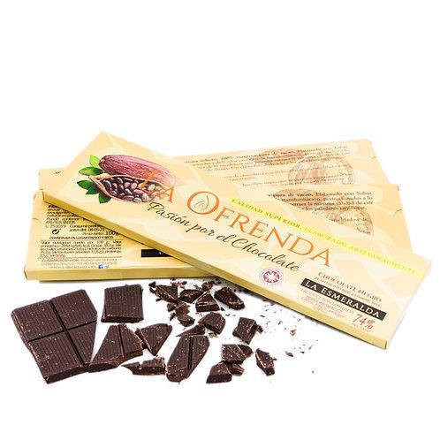 Chocolate de Esmeralda. Origen eco (100 g)