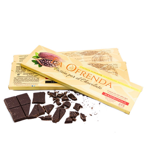 Chocolate de Madirofolo. Origen (100 g)