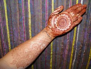 Henna Stain Progression
