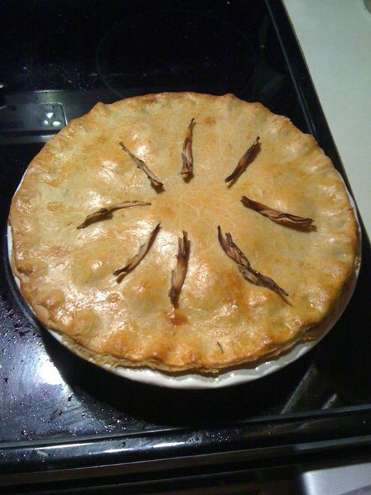 organic pork apple pie