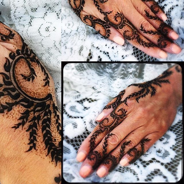 Henna for sweet Julie at the KY Yoga Fes