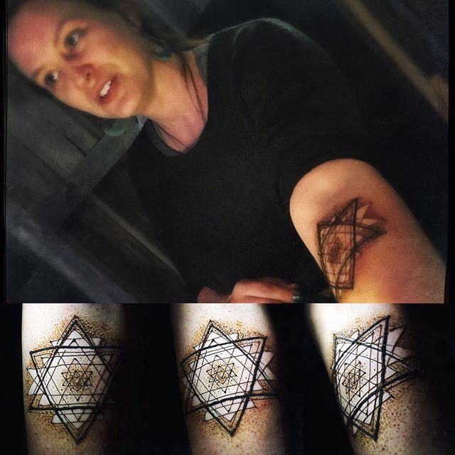 Jamie's sacred geometry henna