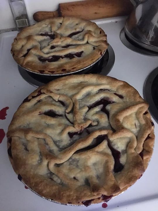 quadruple berry creepy pie faces for Hal