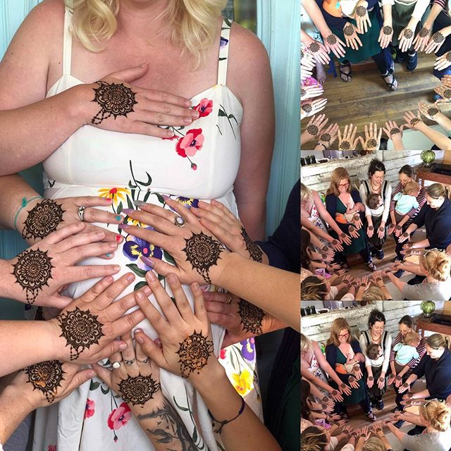 Got to do henna at a blessing way this w