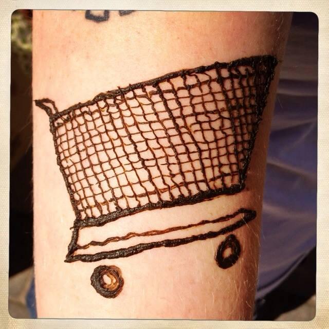 shopping cart henna
