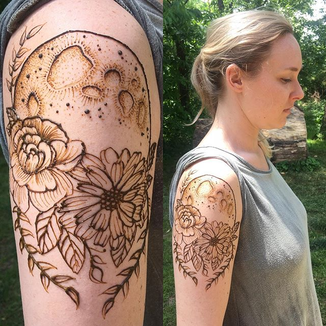 12-4pm henna at The McConnell Springs Ar