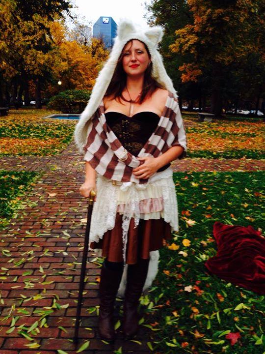 fall wolf costume