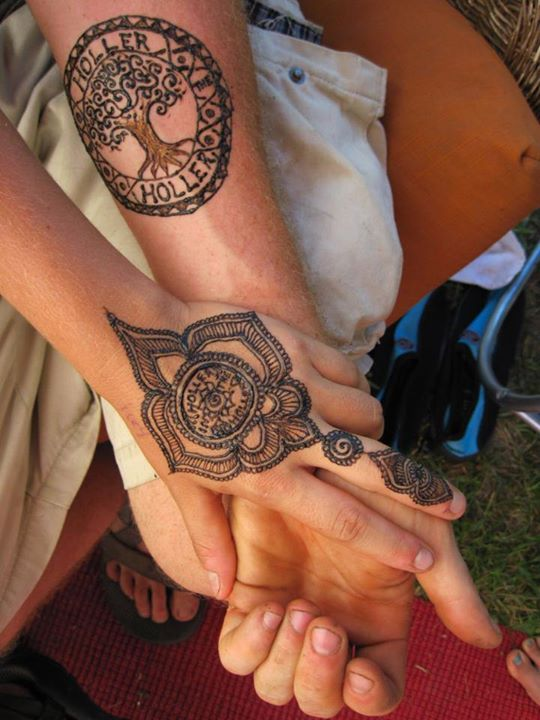 holler in the holler henna